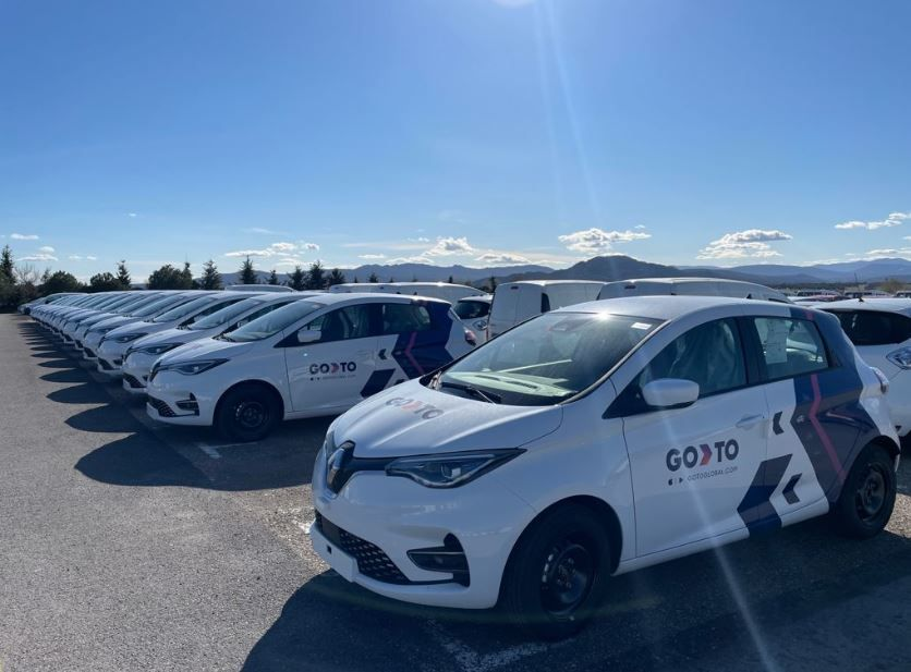 Foto de GoTo freefloating electric carsharing